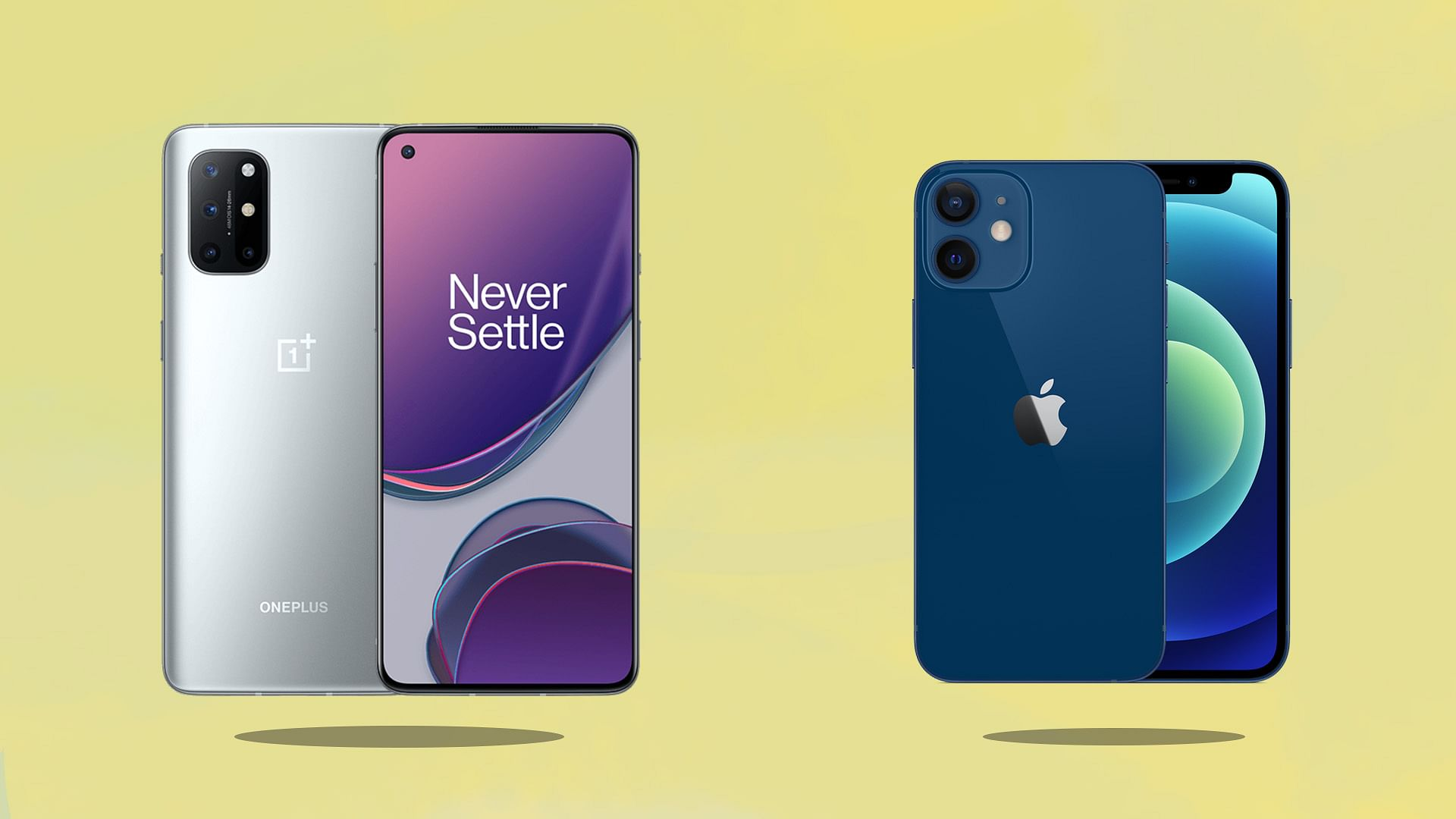 Iphone 12 Mini Vs Oneplus 8t Comparison Specifications Images Camera Battery More