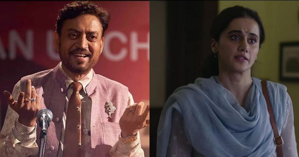 Irrfan for Angrezi Medium and Taapsee Pannu for Thappad